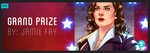 Agent Carter T-Shirt Contest - Grand Prize Winner by JamieFayX