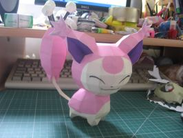Skitty Papercraft by sazmullium