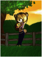 COMM: Farmyard Evening by Candy-Commissions