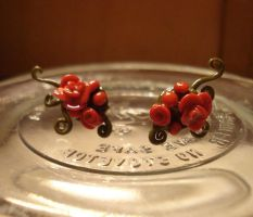 Briar Rose Earrings by SourKiss