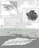 Arial Comic - Page One by ebonycalypso
