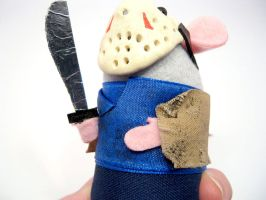 Jason Voorhees Mouse Closeup 1 by The-House-of-Mouse