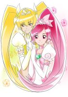 Blossom and Sunshine Coloring by Danichuy