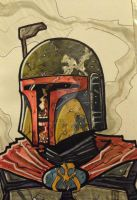 Battle Damaged MANDO by MARR-PHEOS