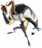 Earthworm Jim - colorisation by s0ulasylum
