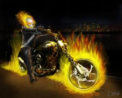 Ghost Rider by necrosage