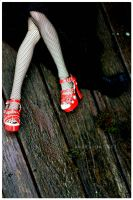 + Red Shoes + by Nezumi-chuu