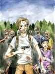 The Walking Dead (Pewdiepie) by kawaiikukka