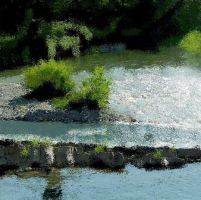 MS Paint Dearborn River by eegcmnaes