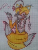 Tails Doll and spider by TransVersus22