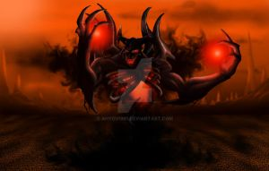 Dota 2- Shadow Fiend, Nevermore by ahyou1991