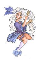 COPIC Pin up : Violet by Sio64