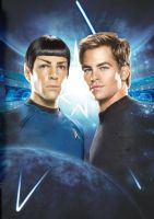 Star Trek New Kirk and Spock by tanman1