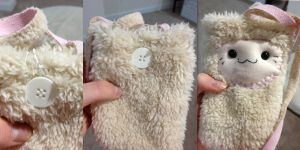 Kawaii plush phone case by HoursUponHours