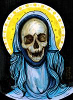 Reliquary of Mary Magdalene Color by metrosexual-werewolf