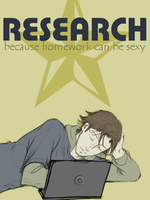 Colored: Research Is Hot by EmonyJade