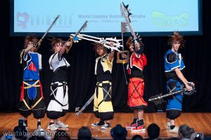 Sora All forms by GrimoireCosplay