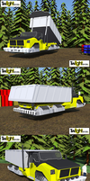 Small Hover Dump Truck by MSgtHaas