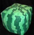 Minecraft Plushie - Melon by AbleSistersFanCrafts