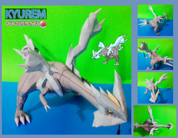 kyurem papercraft download by javierini