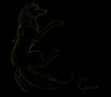 doodle: kise, wolf. by DISUNITE