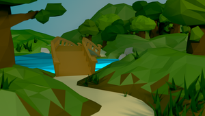 Low poly forest by Piplington