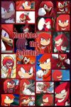 Knuckles The Echdina by PrincessEmerald7