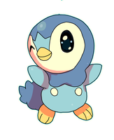 Piplup by LizardonEievui13