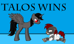 Talos vs DoomKeiser - Talos wins by Imp344