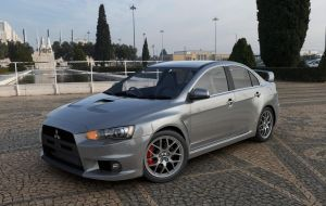 Mitsubishi Lancer Evolution X by MixJoe
