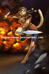 Mongoose Warrior Commission. Character $65 by GenghisKwan
