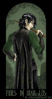 Faith in the Devil...Snape by foxfur