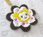 Kawaii Mouse Cookie Necklace by SabrinaDeeBerry