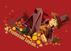 Professor Layton Graffiti 13 by khrssc