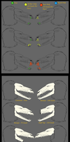 Fang Sizes and Skull Upgrades by Toastpocalypse