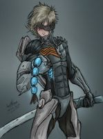 Raiden. Metal Gear Rising Revengance by JuJu-Madness