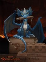 Neverwinter: Mail Dragon by CarmenSinek