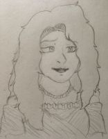 Lydia Jacinthe Orianne (Old Drawing) by Green-Eyed-Dragoness