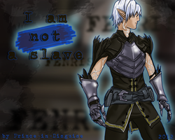 Fenris - I am not a slave by Prince-in-Disguise