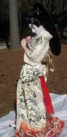 Geisha Parasol Dance 4 by themuseslibrary