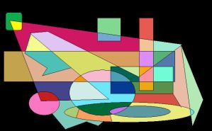 Shapes of Colours 7 by GreenSkullplz