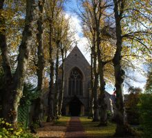 Autumn Church 2011 by Kaz-D