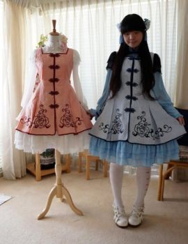 My Lolita Design~Qi Lolita by swdd-cat