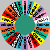 Custom wheel with odd dollar values 3 by Chenglor55