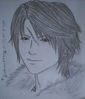 Squall Leonhart by unknown3173