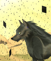 Light in the Shadows: Wolf Link by Hanako-Wolf