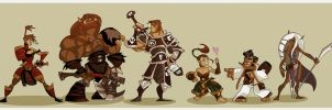 DnD 4e Party MK III by hangemhigh13