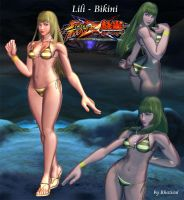 Lili Bikini mod for SFxT by Rhazieul
