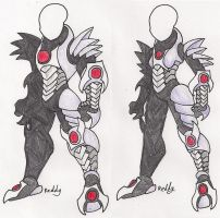 Spike plate armour by Pearl-Shadow