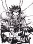 The Wolverine in Chains ....Ray after YU by rayan101